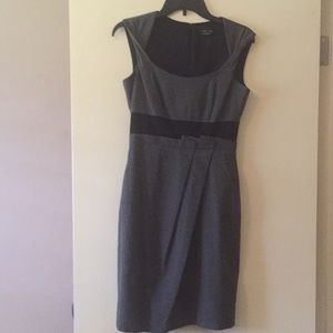 Max & Cleo grey and black dress. Size 4.